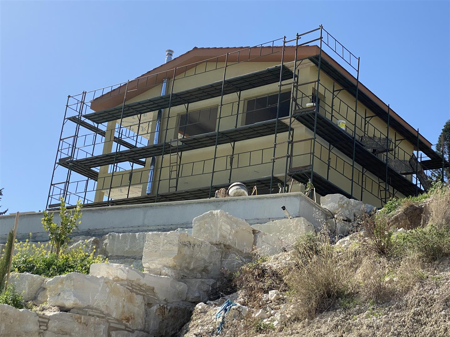 Picture of Three bedroom house under construction